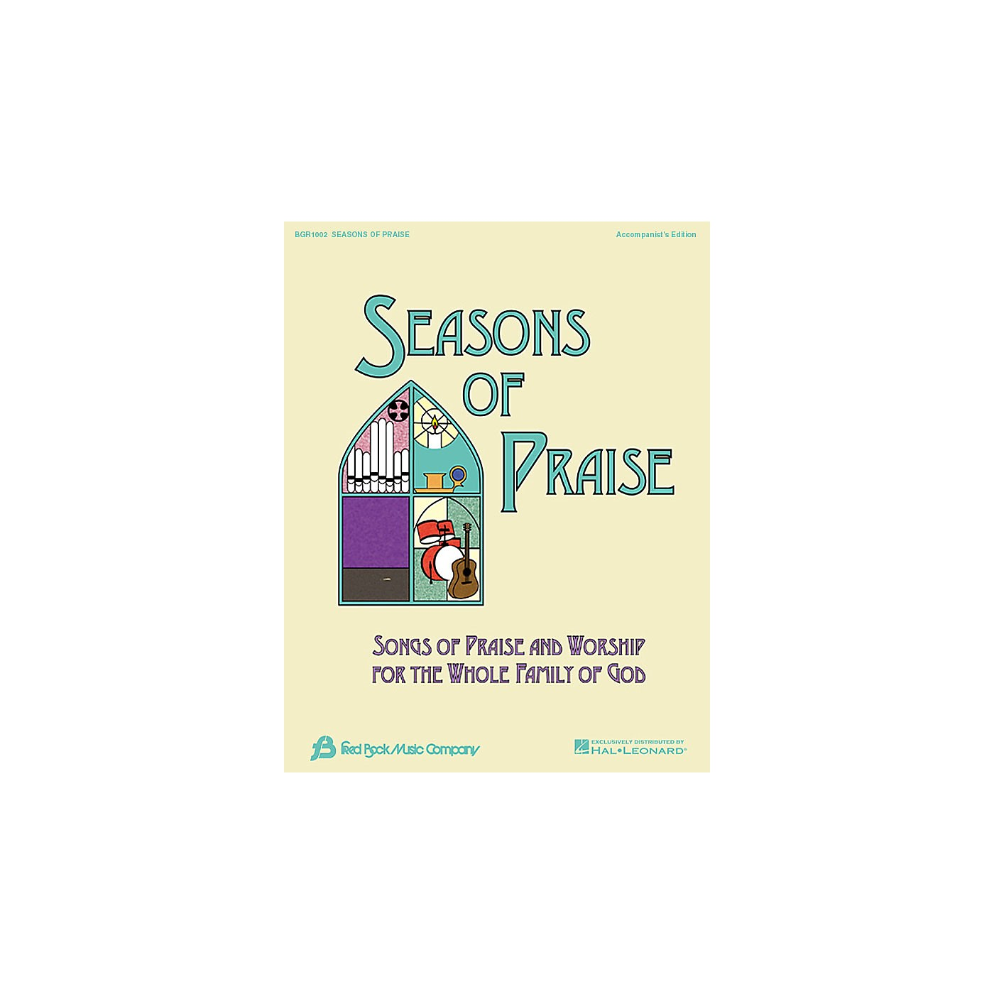Fred Bock Music Seasons of Praise - Accompanist's Edition Accompaniment Edition thumbnail