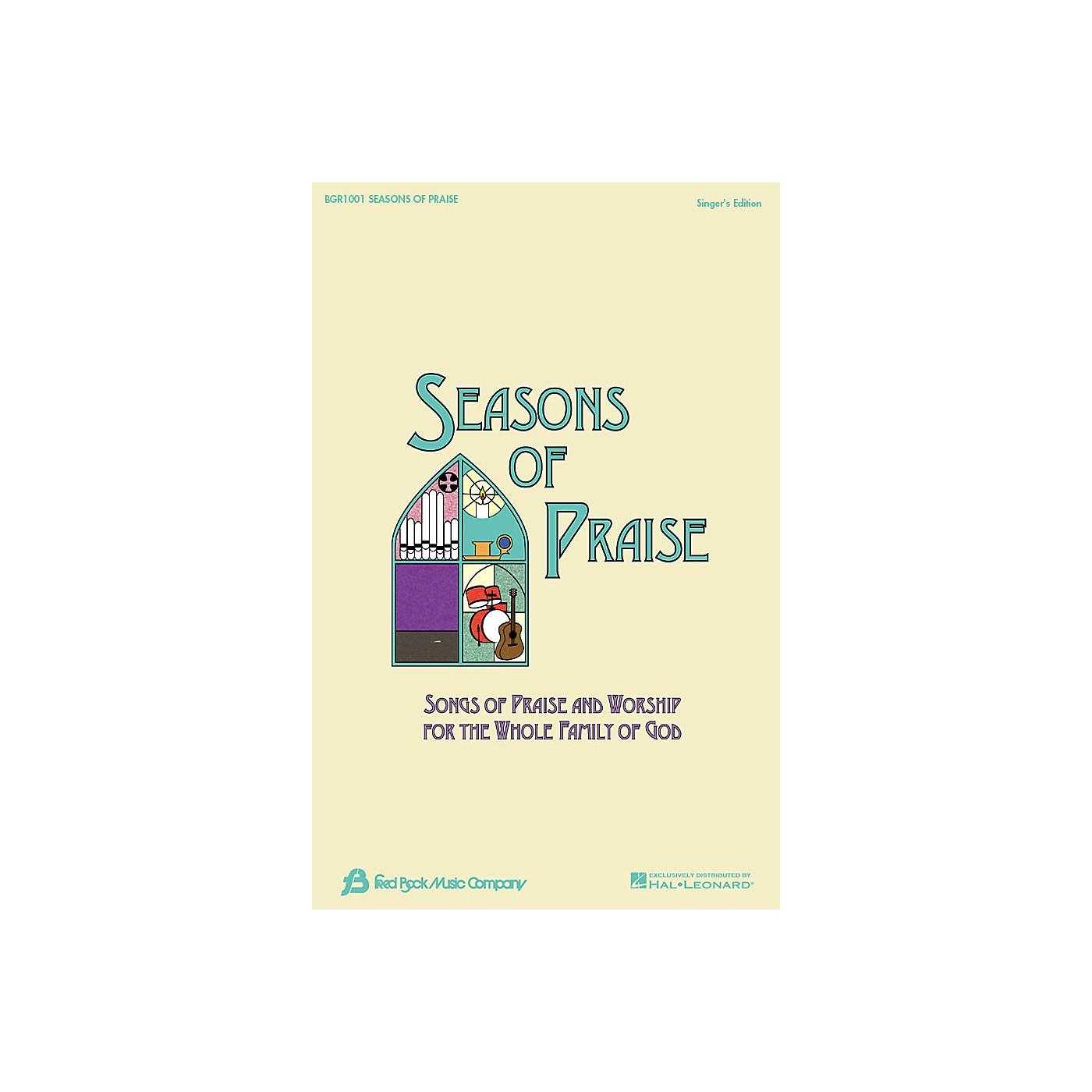 Fred Bock Music Seasons of Praise - Singer's Edition Singer's Ed thumbnail