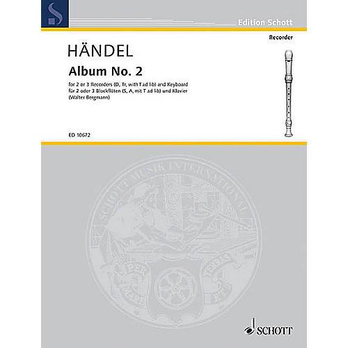 Schott Second Album Schott Series Composed by Georg Friedrich Händel Arranged by Walter Bergmann thumbnail