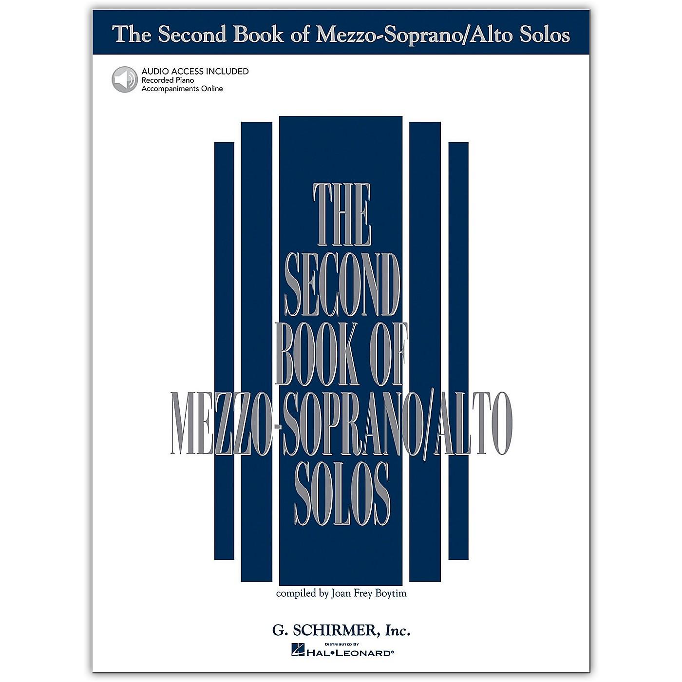G. Schirmer Second Book/Online Audio Of Mezzo-Soprano / Alto Solos Book/Online Audio thumbnail