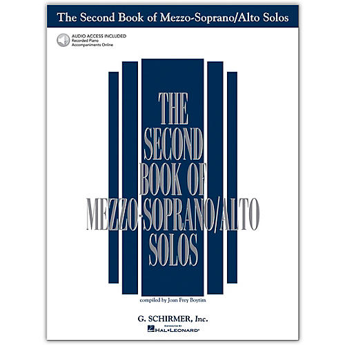 G. Schirmer Second Book/Online Audio Of Mezzo-Soprano / Alto Solos Book/Online Audio thumbnail