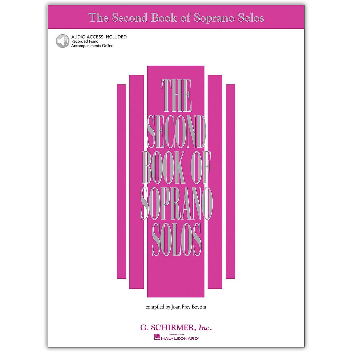 G. Schirmer Second Book/Online Audio Of Soprano Solos Book/Online Audio thumbnail