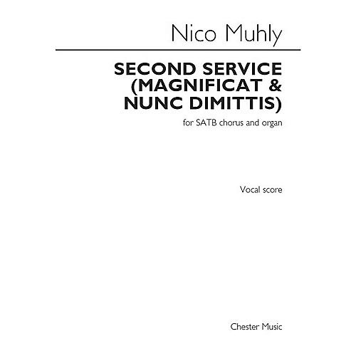 St. Rose Music Publishing Co. Second Service (Magnificat and Nunc Dimittis) (SATB Chorus and Organ) SATB Composed by Nico Muhly thumbnail