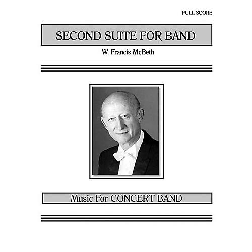 Southern Second Suite for Band (Band/Concert Band Music) Concert Band Level 3 Composed by W. Francis McBeth thumbnail