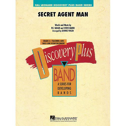 Hal Leonard Secret Agent Man - Discovery Plus Concert Band Series Level 2 arranged by Johnnie Vinson thumbnail