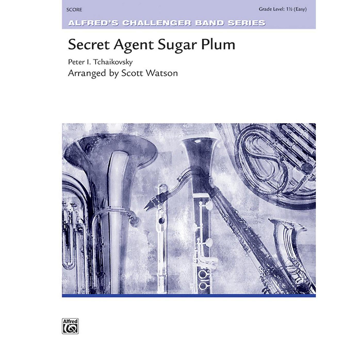 Alfred Secret Agent Sugar Plum Concert Band Grade 1.5 thumbnail