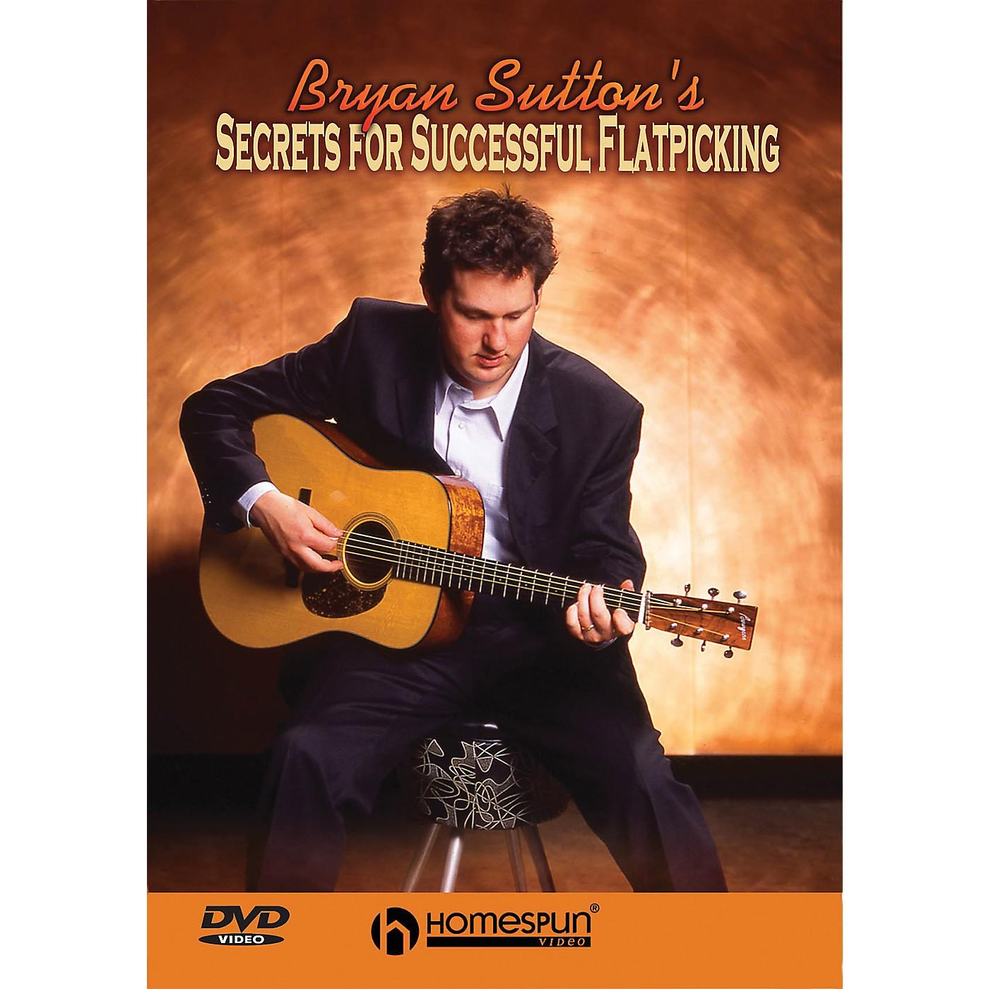 Homespun Secrets for Successful Flatpicking (DVD) thumbnail