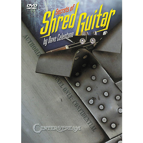 Centerstream Publishing Secrets of Shred Guitar DVD thumbnail