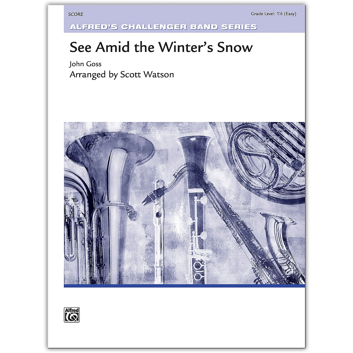 Alfred See Amid the Winter's Snow Conductor Score 1.5 (Easy) thumbnail
