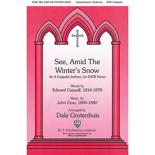 Fred Bock Music See Amid the Winter's Snow SATB a cappella arranged by Dale Grotenhuis thumbnail