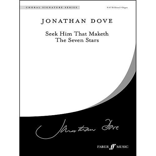 Alfred Seek Him That Maketh the Seven Stars SATB Choral Octavo thumbnail