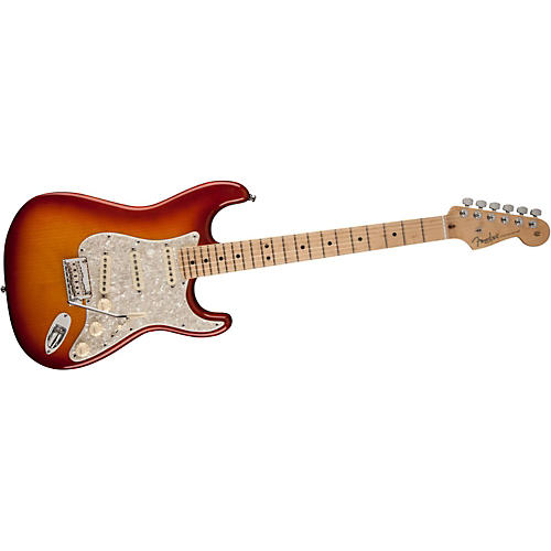 Fender Select Port Orford Cedar Stratocaster Electric Guitar thumbnail