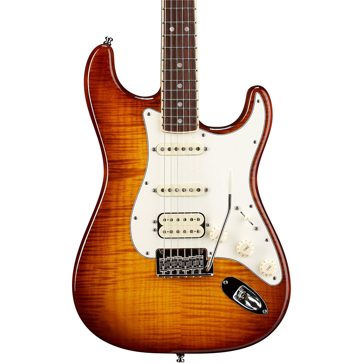 Fender Select Stratocaster HSS Electric Guitar thumbnail