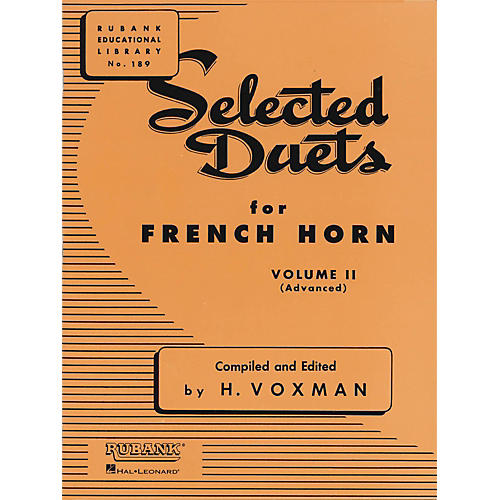 Hal Leonard Selected Duets for French Horn Vol. 2 Advanced-thumbnail