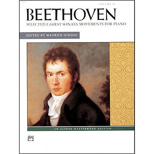 Alfred Selected Intermediate to Early Advanced Piano Sonata Movements Volume 2 Volume 2 thumbnail