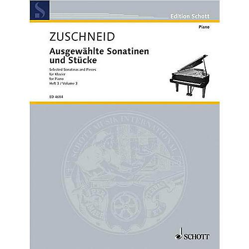 Schott Selected Sonatinas Vol. 3 Schott Series-thumbnail