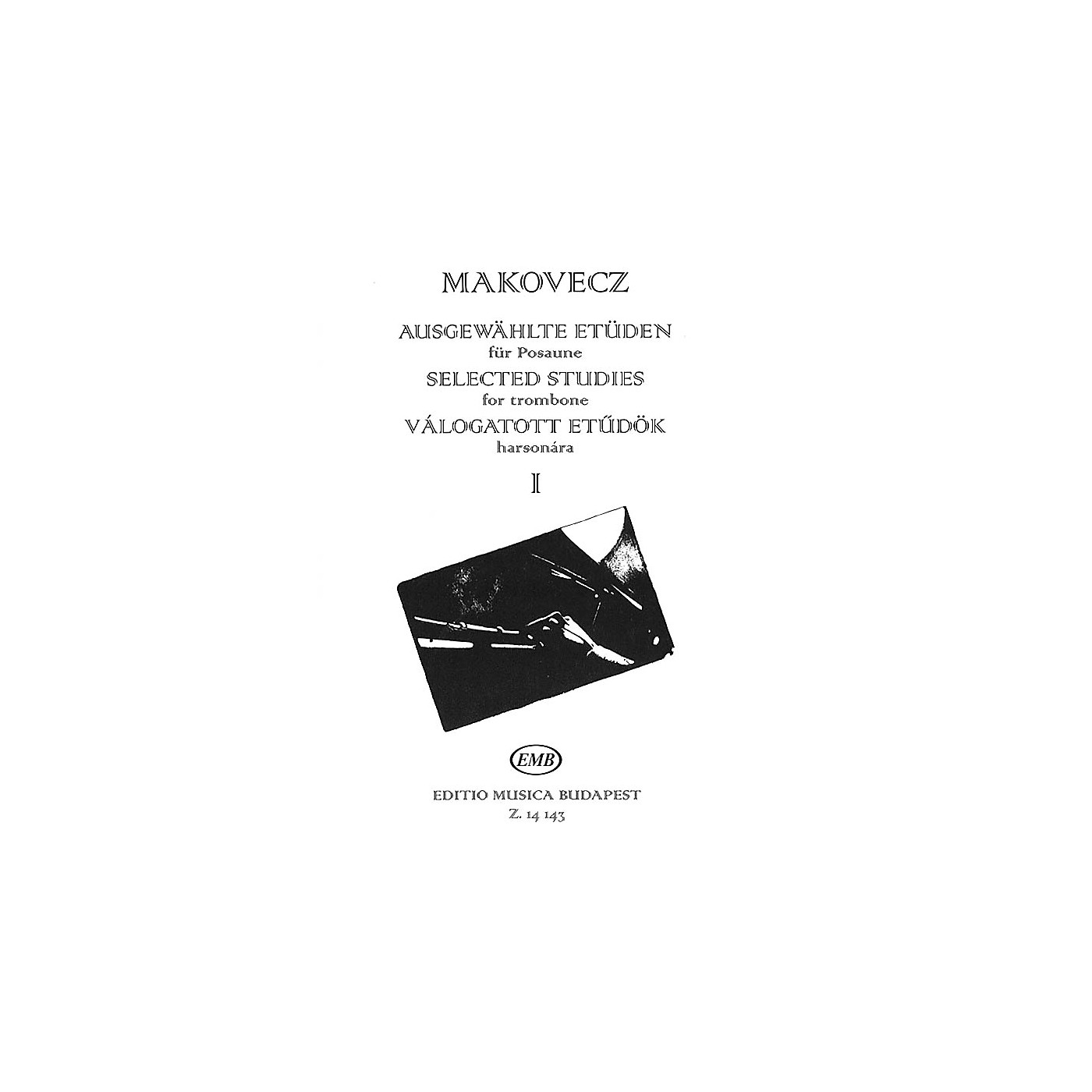 Editio Musica Budapest Selected Studies - Volume 1 (for Trombone) EMB Series thumbnail