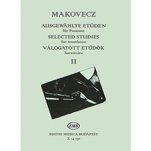 Editio Musica Budapest Selected Studies - Volume 2 (for Trombone) EMB Series thumbnail
