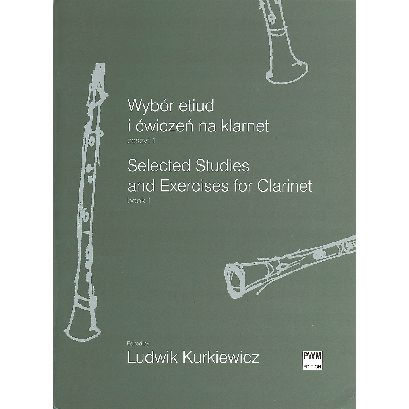 PWM Selected Studies and Exercises for Clarinet Book 1 PWM Series Softcover thumbnail