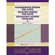 Editio Musica Budapest Selected Studies for Flute - Volume 2 EMB Series