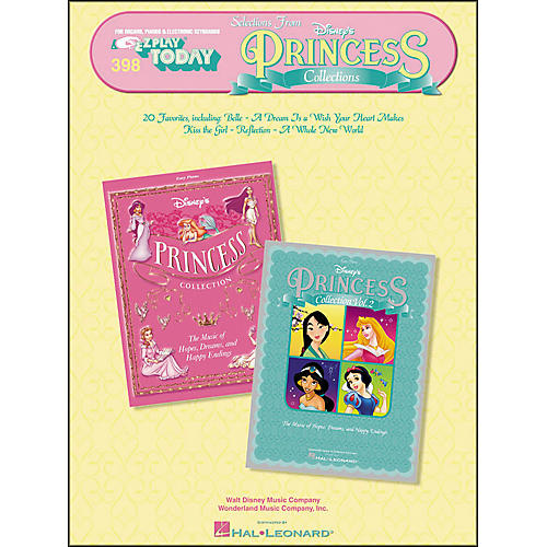 Hal Leonard Selections From Disney's Princess Collections E-Z Play 398 thumbnail