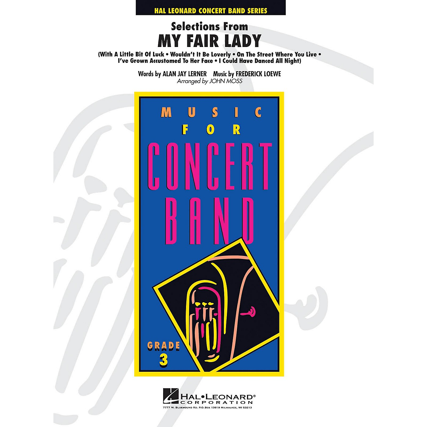 Hal Leonard Selections From My Fair Lady Full Score Concert Band thumbnail