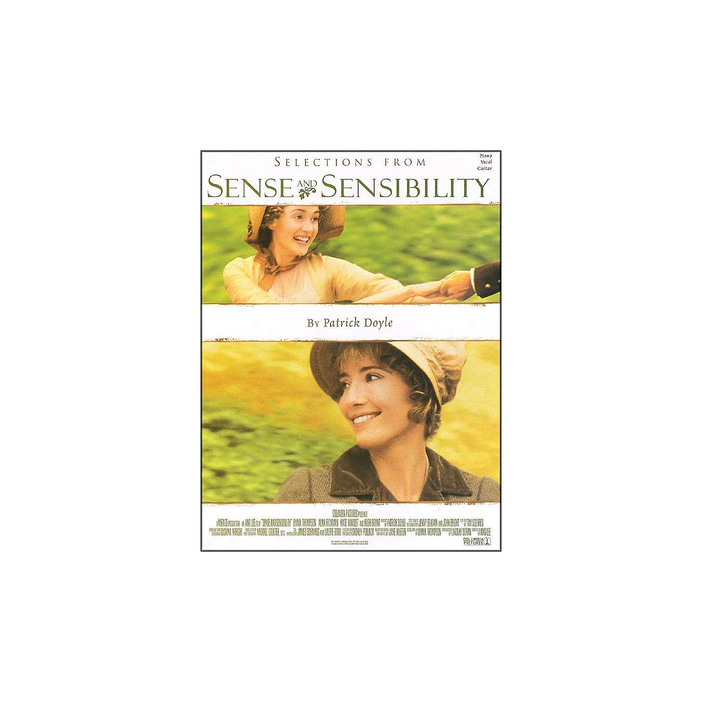 Hal Leonard Selections From Sense And Sensibility arranged for piano, vocal, and guitar (P/V/G) thumbnail