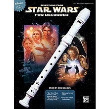 Alfred Selections From Star Wars for Recorder Book