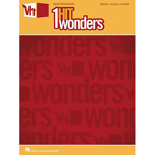 Hal Leonard Selections From VH1's 1-Hit Wonders Piano, Vocal, Guitar Songbook thumbnail