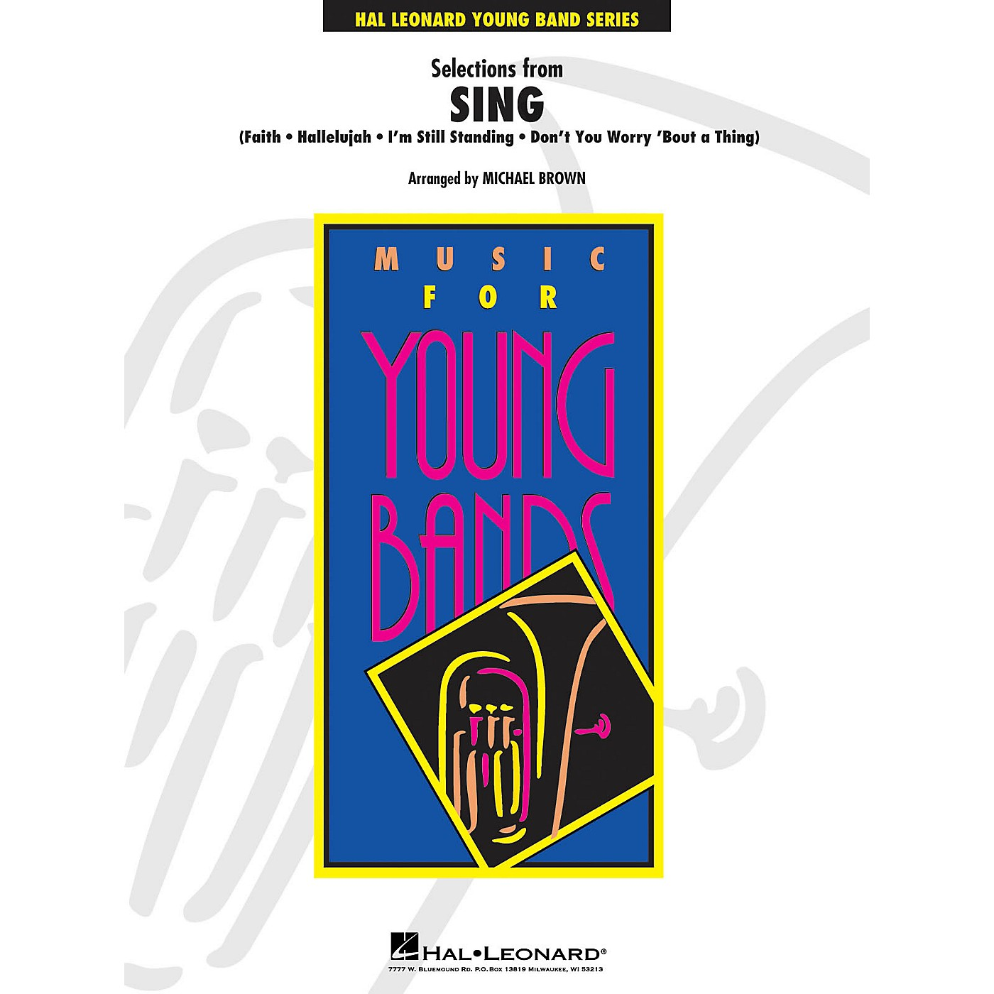 Hal Leonard Selections from Sing - Young Concert Band Level 3 by Michael Brown thumbnail