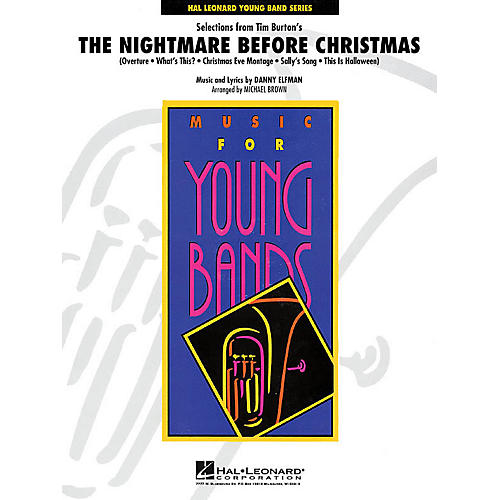 Hal Leonard Selections from The Nightmare Before Christmas - Concert Band Level 3 arranged by Michael Brown thumbnail