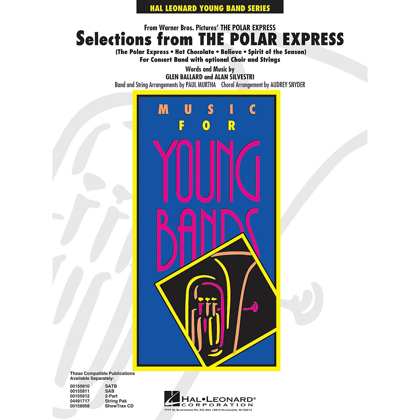 Hal Leonard Selections from The Polar Express - Concert Band Level 3 arranged by Audrey Snyder and Paul Murtha thumbnail
