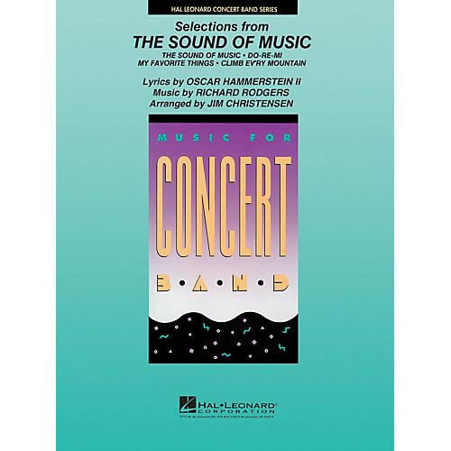 Hal Leonard Selections from The Sound of Music Concert Band Level 4 Arranged by James Christensen thumbnail