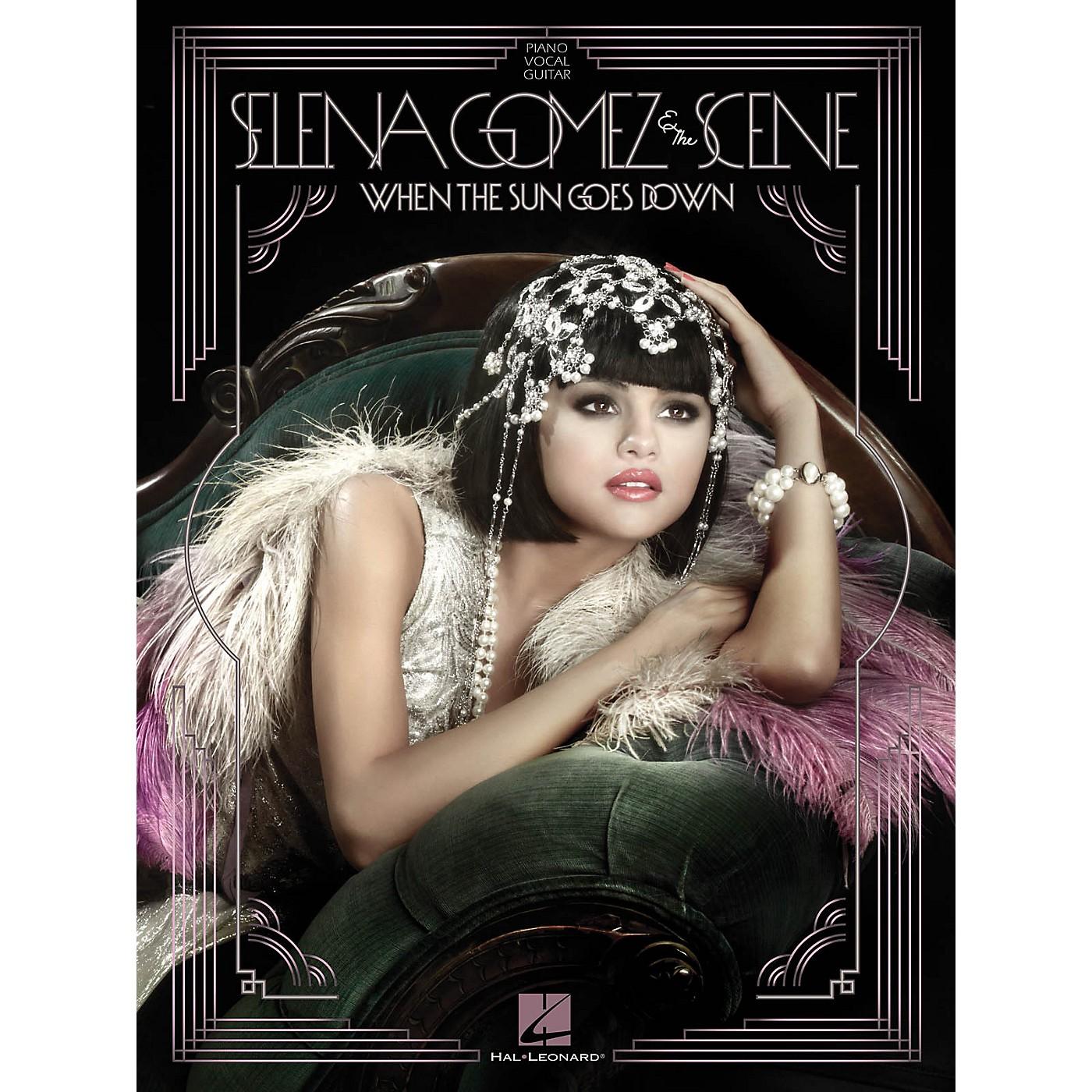 Hal Leonard Selena Gomez And The Scene - When The Sun Goes Down P/V/G Songbook thumbnail