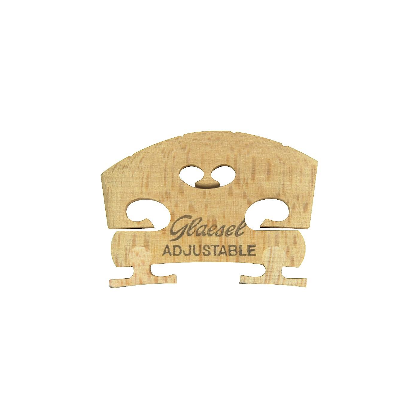 Glaesel Self-Adjusting 1/2 Violin Bridge thumbnail