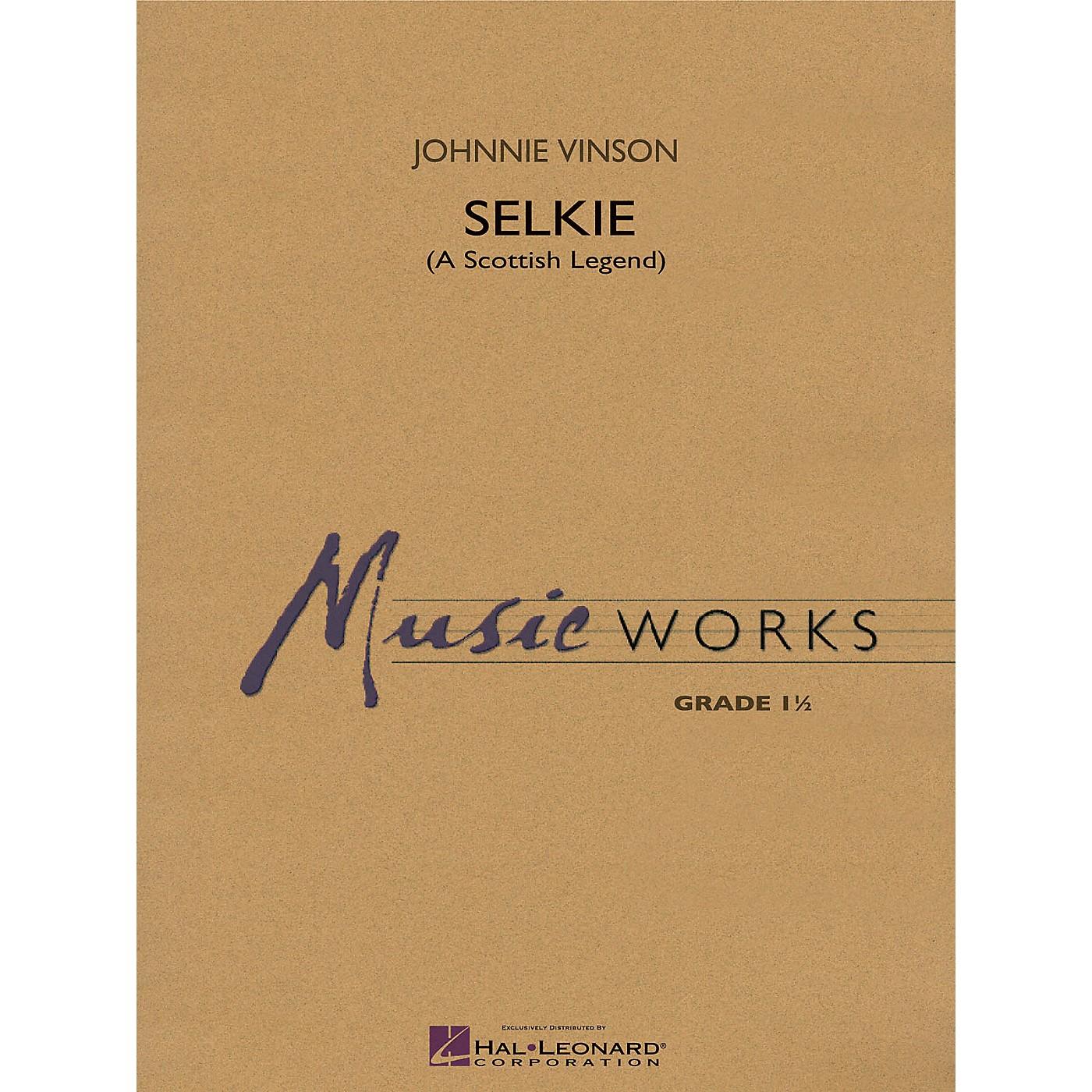 Hal Leonard Selkie (A Scottish Legend) Concert Band Level 1 Composed by Johnnie Vinson thumbnail
