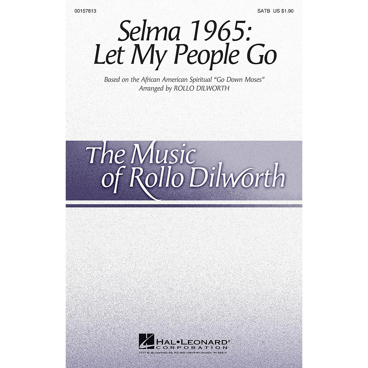 Hal Leonard Selma 1965: Let My People Go SATB arranged by Rollo Dilworth thumbnail