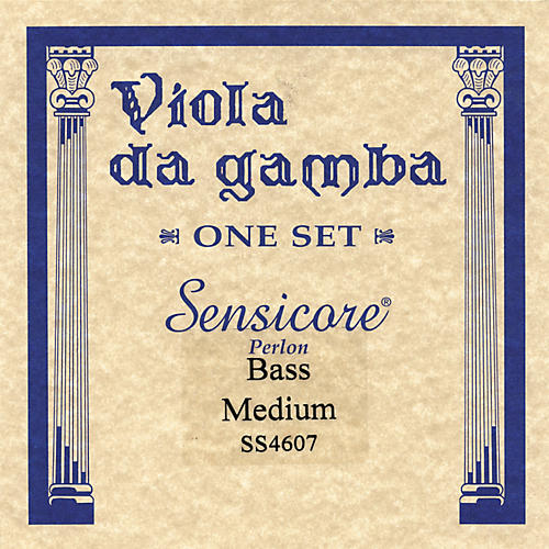 Super Sensitive Sensicore Bass Viola de Gamba Strings thumbnail