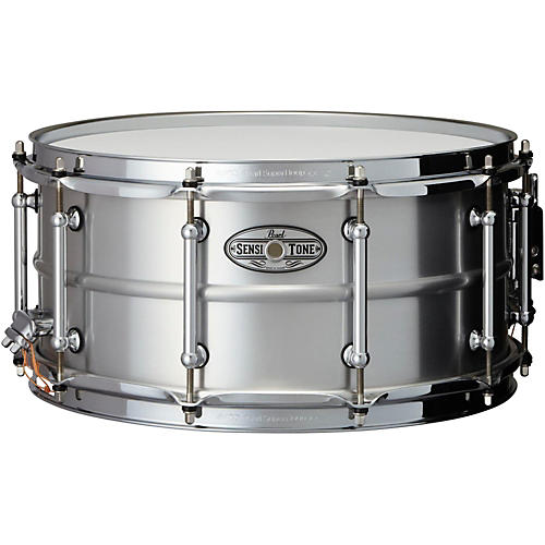 Pearl Sensitone Beaded Seamless Aluminum Snare Drum thumbnail