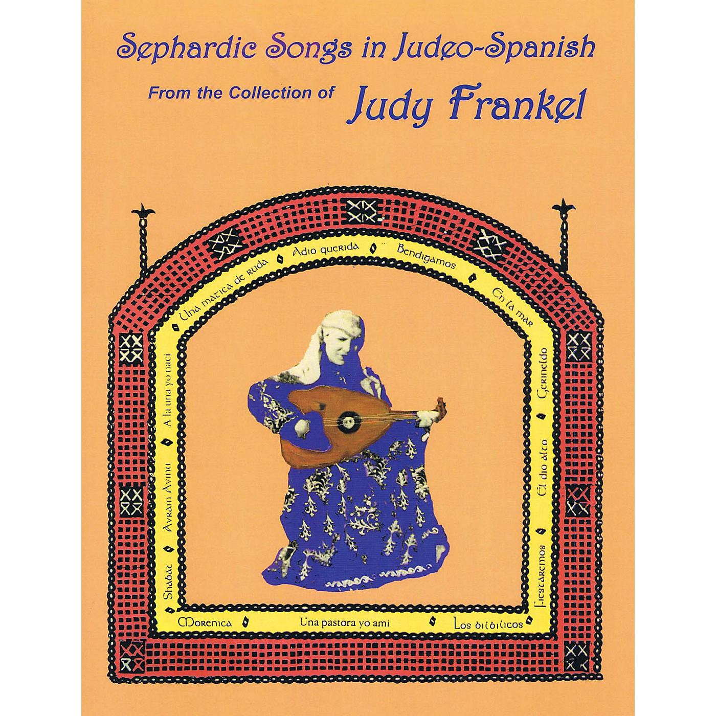 Tara Publications Sephardic Songs in Judeo-Spanish Tara Books Series Softcover with CD thumbnail