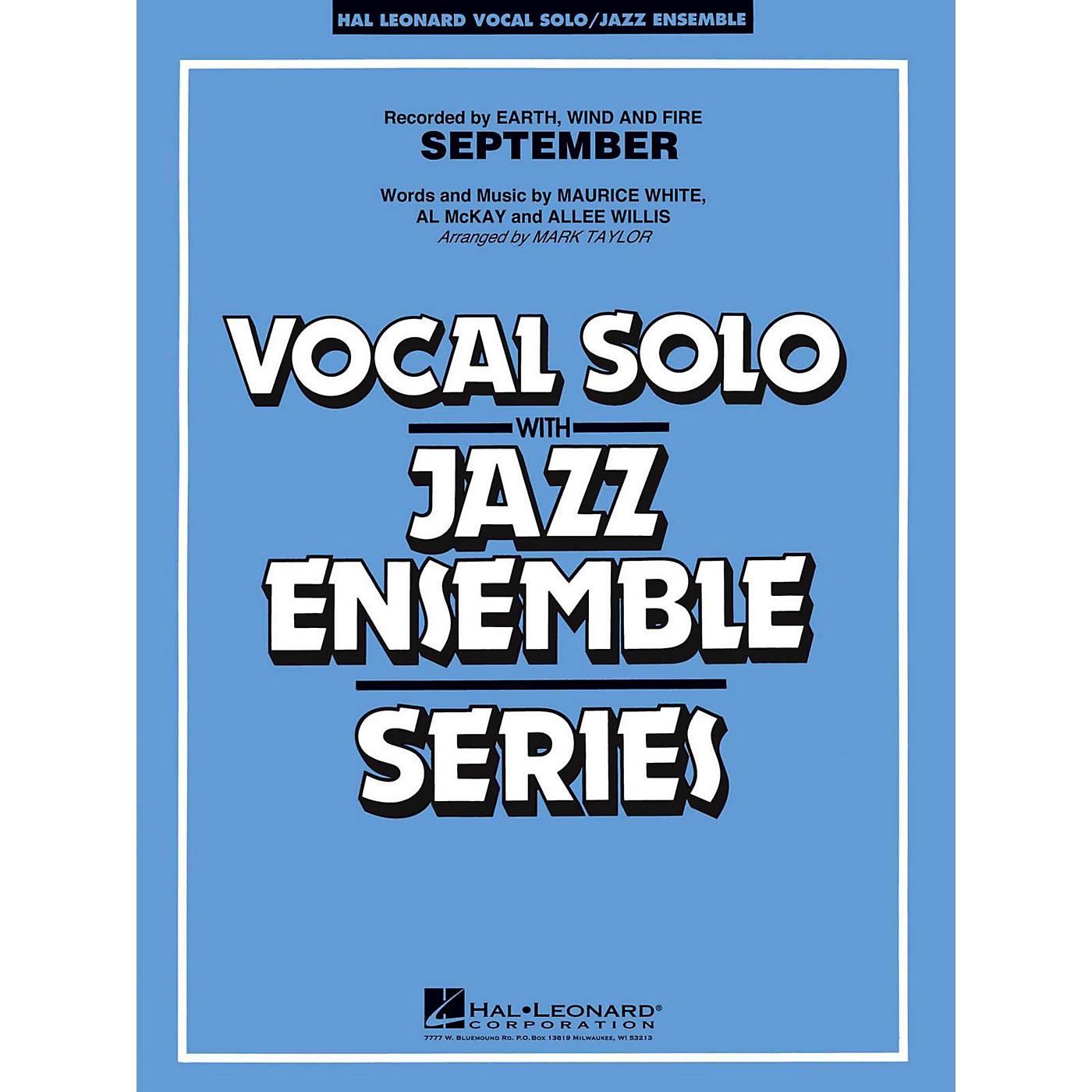 Hal Leonard September Vocal Solo Jazz Band Level 3 - 4 thumbnail