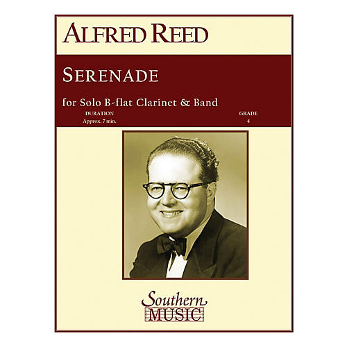 Southern Serenade (Band/Instrumental Solo) Concert Band Level 4 Composed by Alfred Reed thumbnail