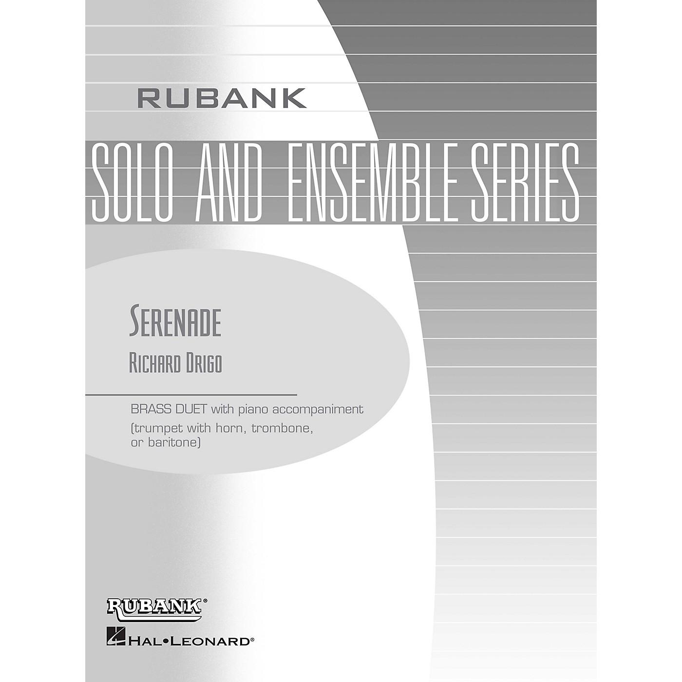 Rubank Publications Serenade (Brass Duet with Piano - Grade 2) Rubank Solo/Ensemble Sheet Series thumbnail