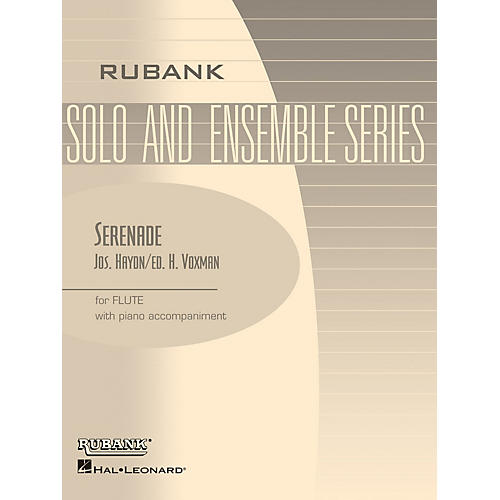 Rubank Publications Serenade (Flute Solo with Piano - Grade 2.5) Rubank Solo/Ensemble Sheet Series thumbnail