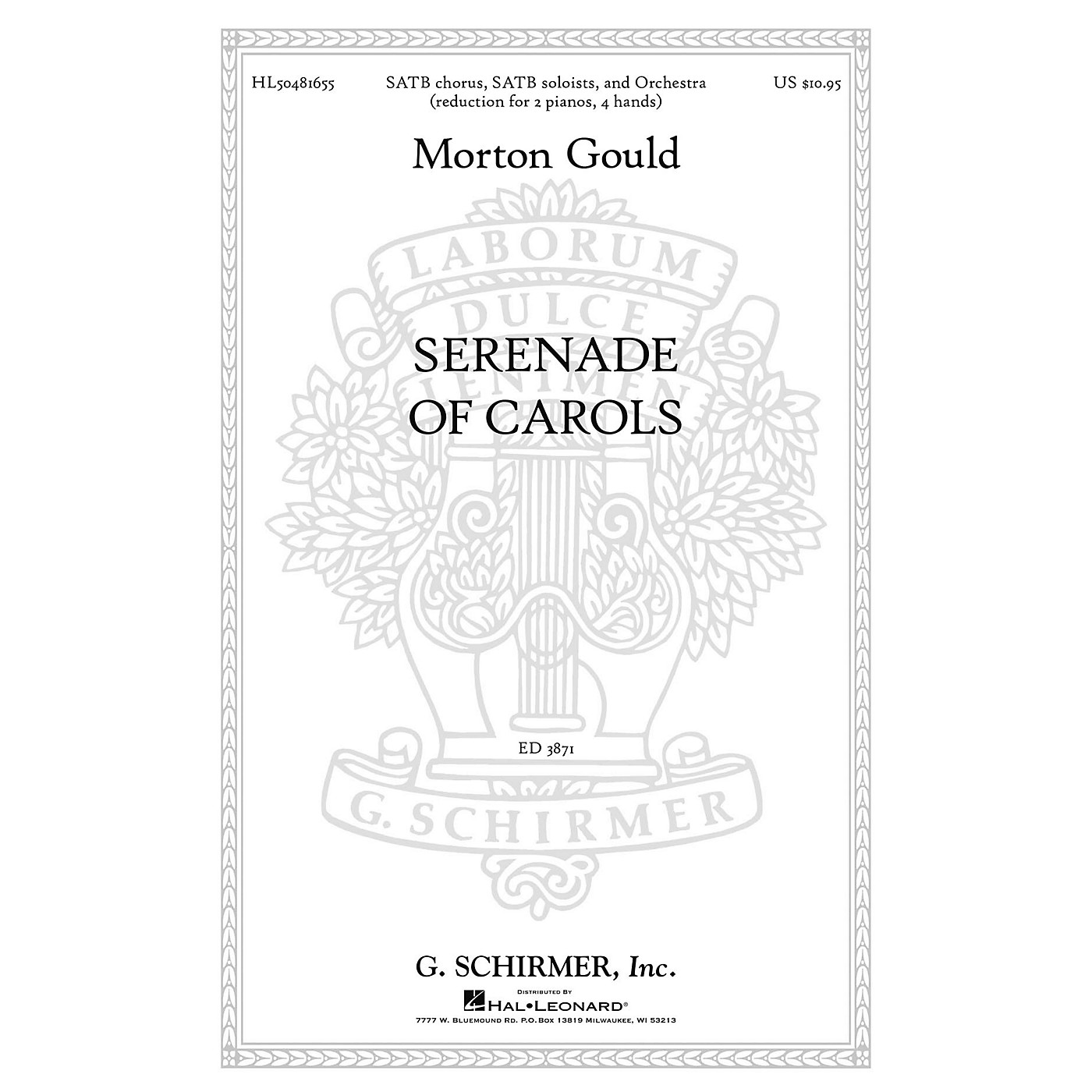 G. Schirmer Serenade Of Carols composed by M Gould thumbnail