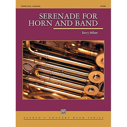 Alfred Serenade for Horn and Band Concert Band Grade 3 (Medium) thumbnail