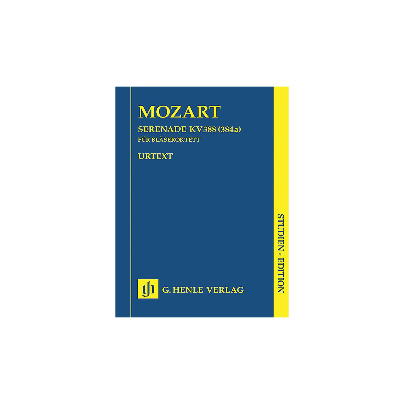 G. Henle Verlag Serenade in C minor K388 (384a) Henle Study Scores Series Softcover Composed by Wolfgang Amadeus Mozart thumbnail