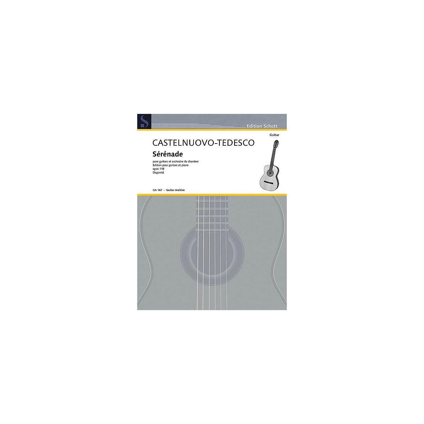 Schott Serenade in D Minor, Op. 118 (Guitar and Piano) Schott Series thumbnail