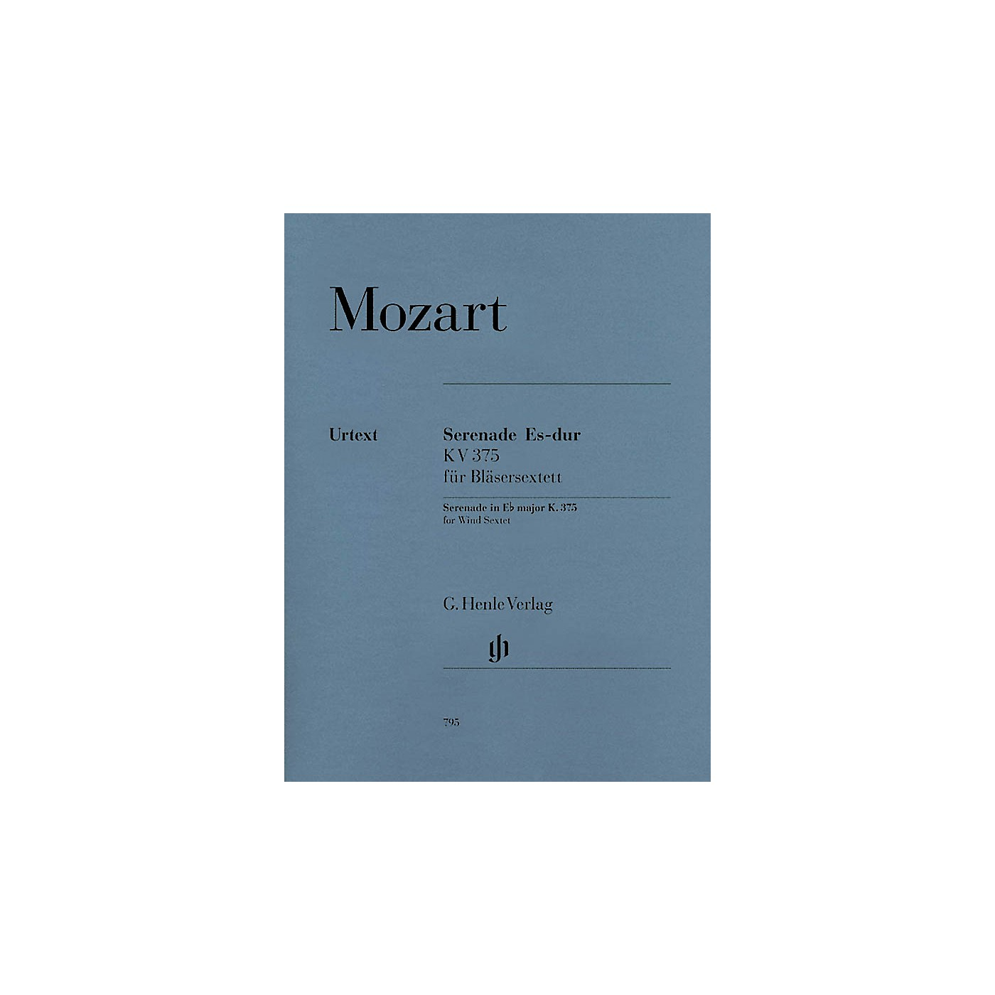 G. Henle Verlag Serenade in E-flat Major, K. 375 Henle Music Folios Series Softcover Composed by Wolfgang Amadeus Mozart thumbnail