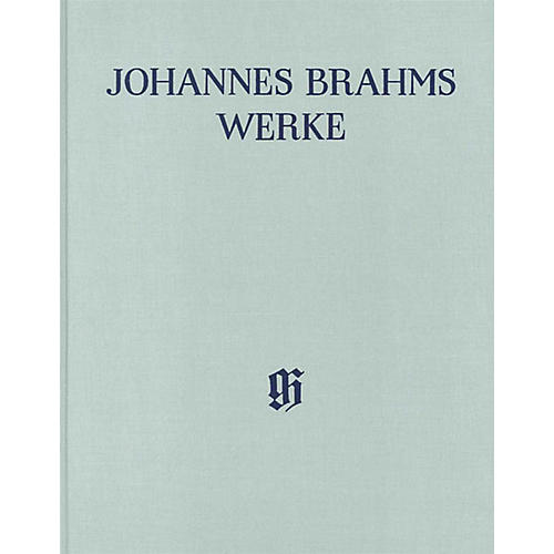 G. Henle Verlag Serenades Henle Edition Series Hardcover by Johannes Brahms Edited by Michael Musgrave thumbnail